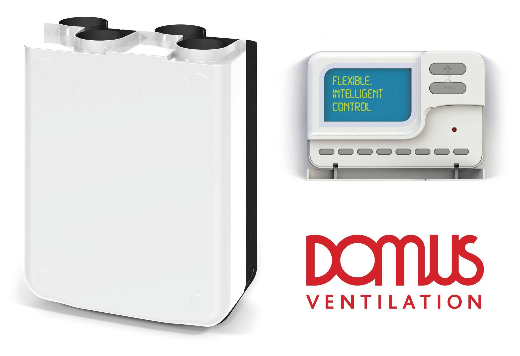 Domus Ventilation Mvhr Wall Units Now With Bluebrain Control