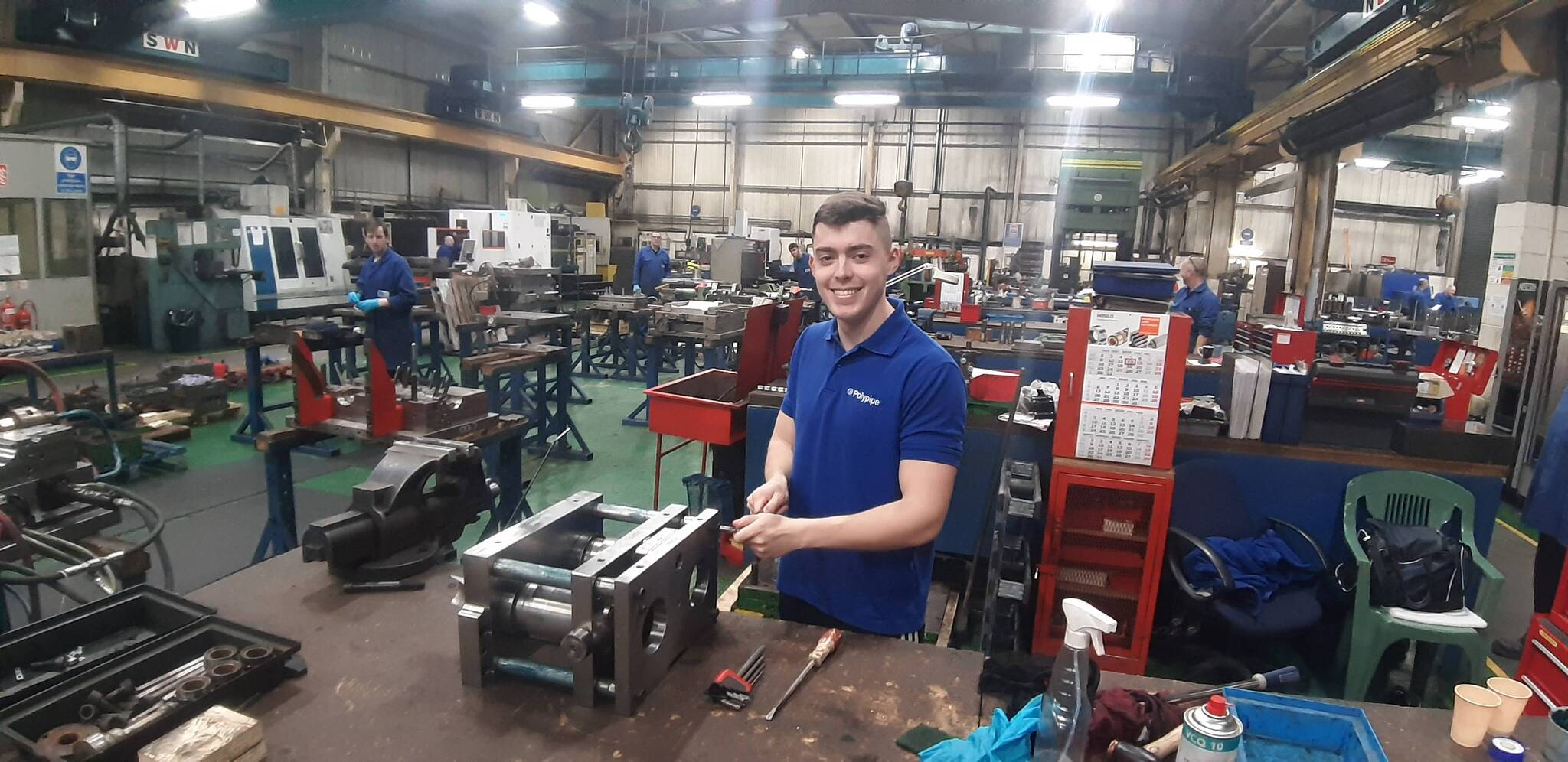 Polypipe U2019s Jordan Clayton Wins Polymer Apprentice Of The