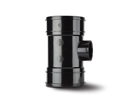 System 2000 Soil 110mm Solvent Boss Pipe Double Socket
