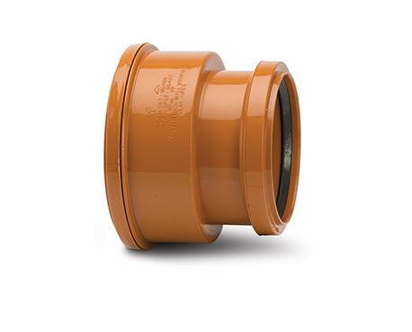 Underground Drainage 110mm Thick Clay Pipe Adaptor To Pvc