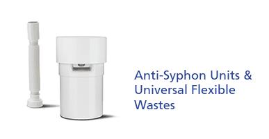 Anti-Syphon Units & Universal Flexible Wastes