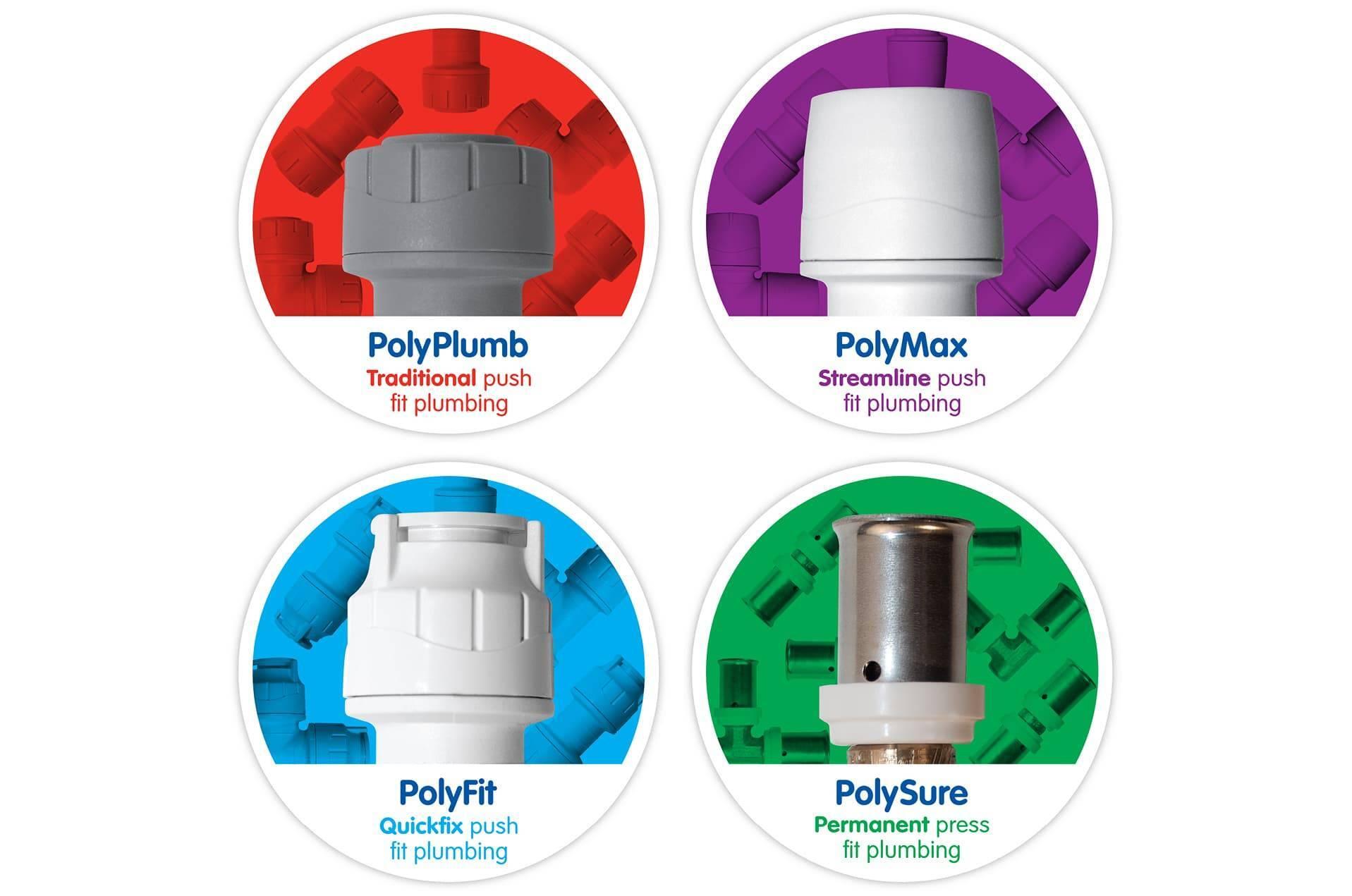 Four Versatile Push Fit Ranges
