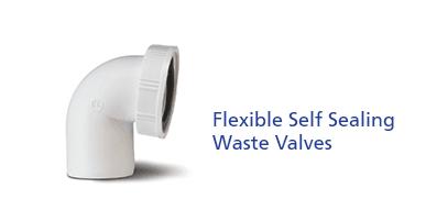 Flexible Self Sealing Waste Valves
