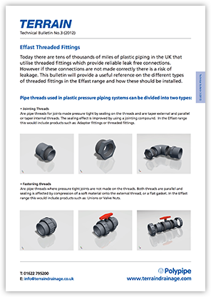 Issue 3 - Effast Threaded Fittings