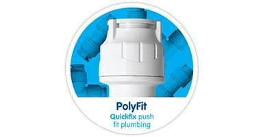 PolyFit White Hand Demountable Fittings