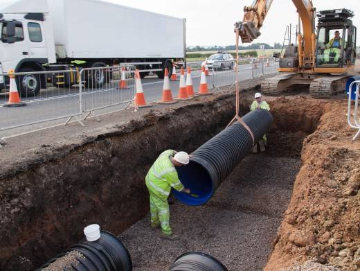 Polypipe Appointed To Keep A5 Project Moving Polypipe