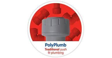 PolyPlumb Grey Non Demountable Fittings
