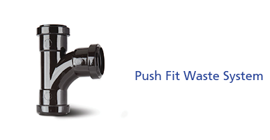Push Fit Waste System