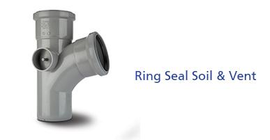 Ring Seal Soil & Vent - PVCu