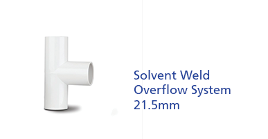 Solvent Weld Overflow System 21.5mm