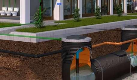 Rainstream Water Storage & Re-use System
