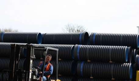 Ridgidrain Pipe System - surface water drainage