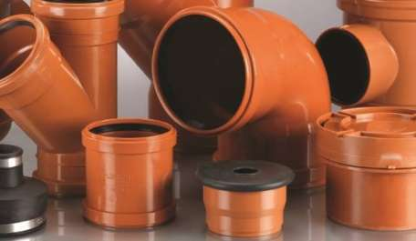 Terrain Underground drainage systems for commercial and public buildings
