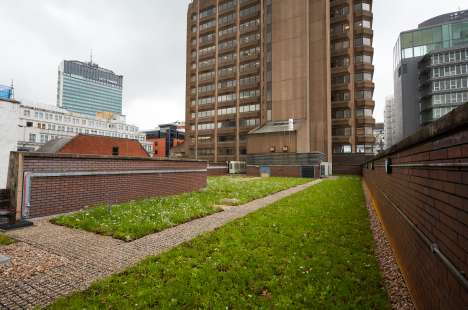 A ground-breaking climate and water resilience research roof sited on Bloc, Manchester - Polypipe Civils & Green Urbanisation