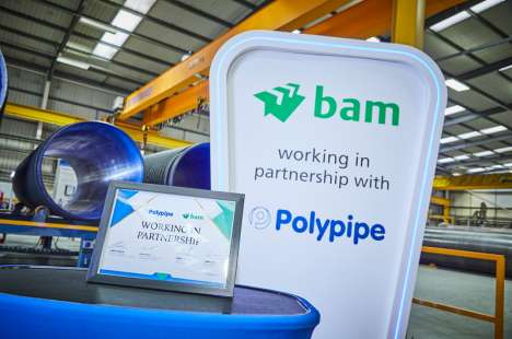 BAM signs solus supply deal with Polypipe