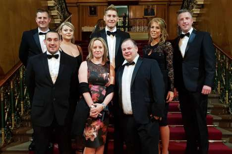 The Polypipe Team at the CCISY Awards 2018