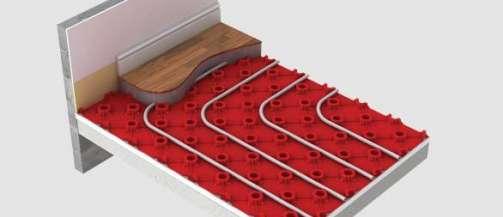 Red Floor Panel