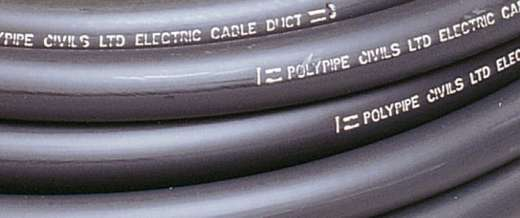 Polyduct, cable protection