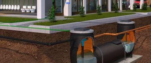 Rainstream Water Storage & Re-use System