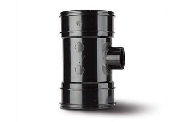 Single Boss Pipe 4in/110mm. Double Socket 40mm.