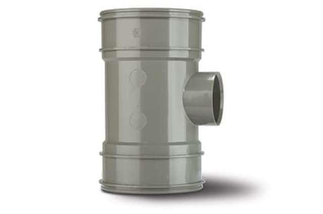 Single Boss Pipe 4in/110mm. Double Socket 50mm.