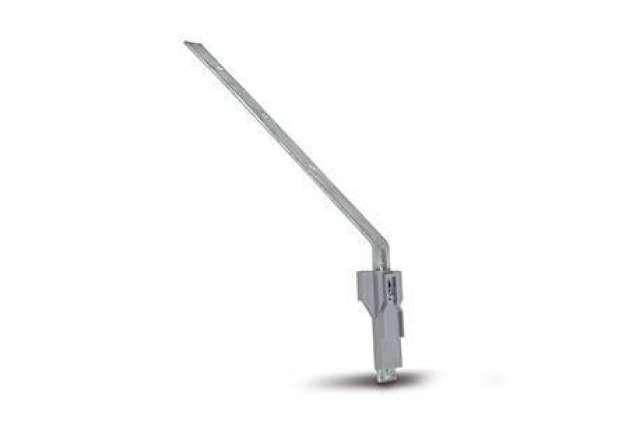 """Galvanised Rafter Arm Side Rafter Arm (9"""" Metal Spar)."""