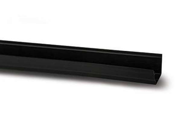 Polypipe Sovereign 117mm 2m Gutter Black