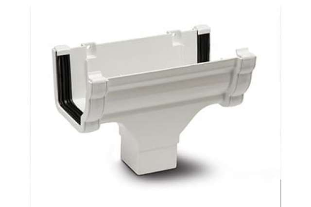 Polypipe Sovereign 117mm Running Outlet White