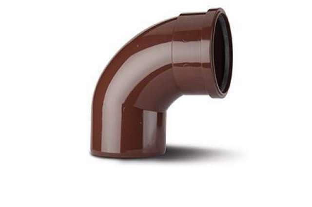 Single Socket Bend 4in/110mm. 92½°