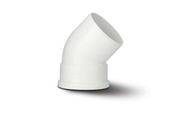 Single Socket Bend 4in/110mm. 135°