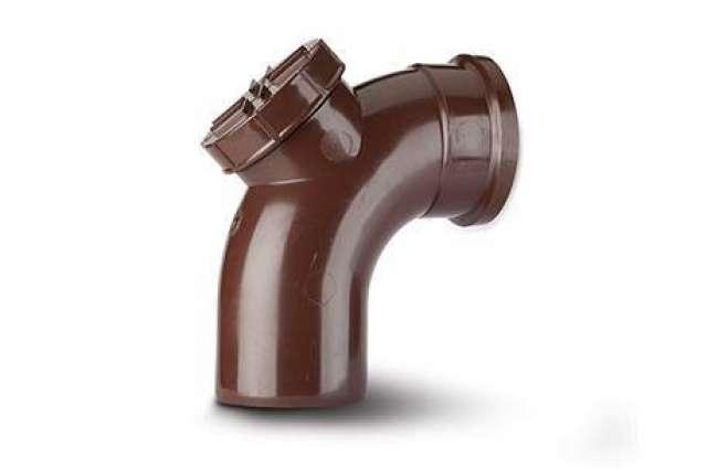 Access Bend 4in/110mm. 92½°. Single Socket