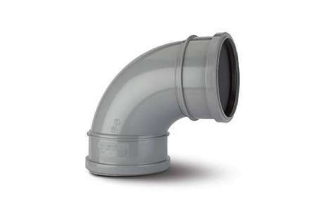 Single Socket Bend 6in/160mm. 92½°