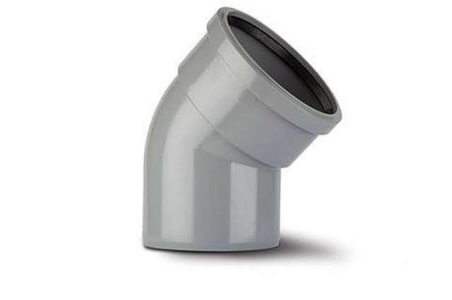 Single Socket Bend 6in/160mm. 135°