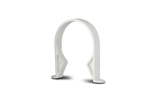 Pipe Clips (Plastic) 4in/110mm. Socket