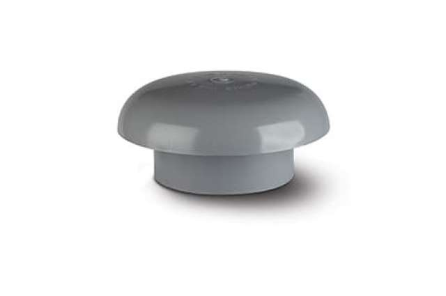 Soil Vent Cowl 110mm Polypipe SCV40 Grey