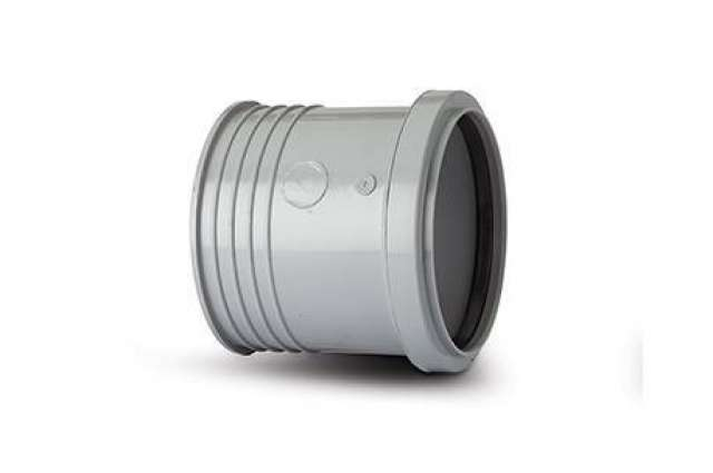 Drain Connector 4in/110mm. Mortar joint to clay socket