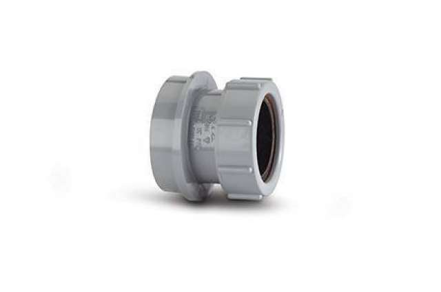 Straight Adaptor 50mm. (Solvent/Compression)