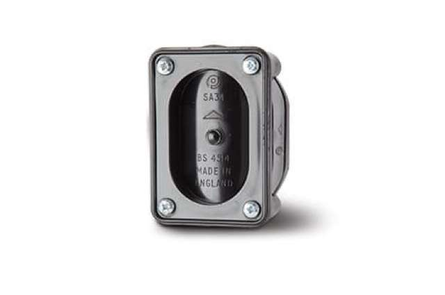 Short Access Pipe 6in/160mm. Double Socket.