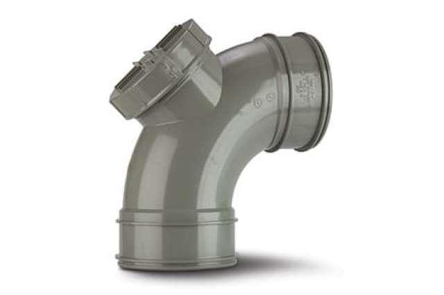 Access Bend (Double Socket) 4in/110mm. 92½°.