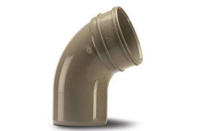 Bend 4in/110mm. 112½°. (Socket/Spigot)