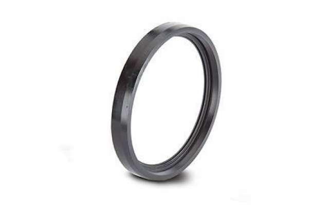Ring Seal Adaptor 3in/82mm. Rubber seal & polypropylene cap.