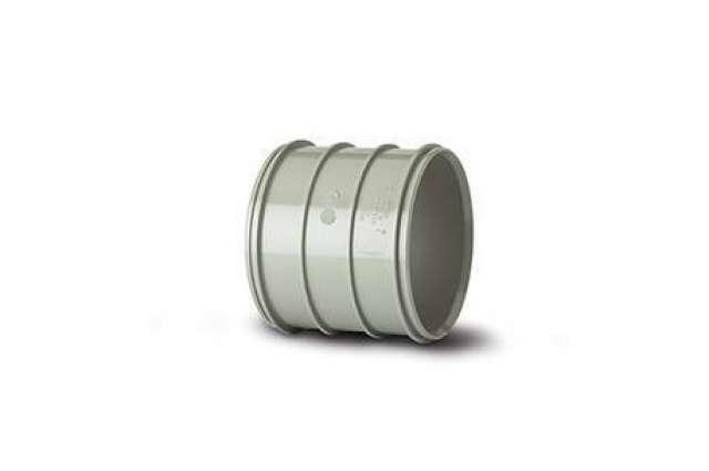 Pipe Coupler 4in/110mm. Solvent Socket.