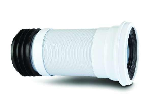 kwickfit pan connector 110mm flexible extending 300mm to. Black Bedroom Furniture Sets. Home Design Ideas