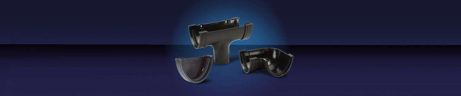 Polyflow - Elegance Cast Iron Effect Gutter Range