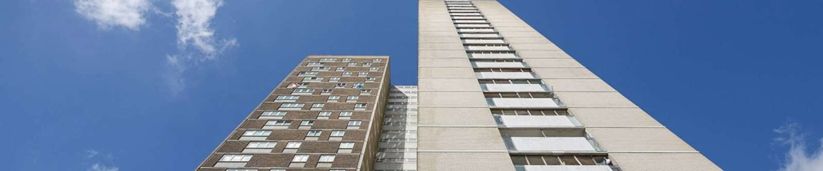 Millbrook tower stands tall following replacement of rainwater drainage stacks
