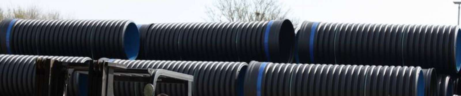 Ridgidrain Pipe System - surface water drainage
