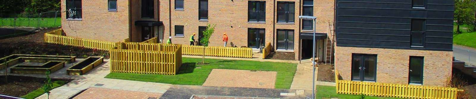Terrain drainage and supply pipe systems for local authority and high rise residential buildings