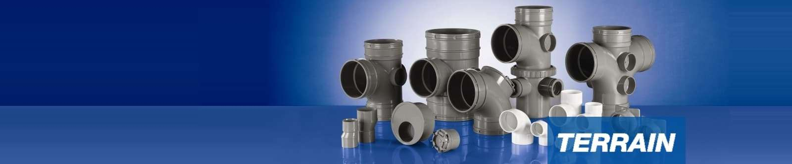 Polypipe Terrain soil and waste plastic pipe systems for the commercial market
