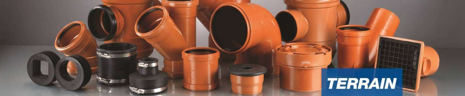 Terrain Underground drainage systems for commercial and public buildings & Terrain Underground Drainage Pipes | Below Ground Pipe | Polypipe