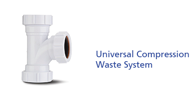 Universal Compression Waste System